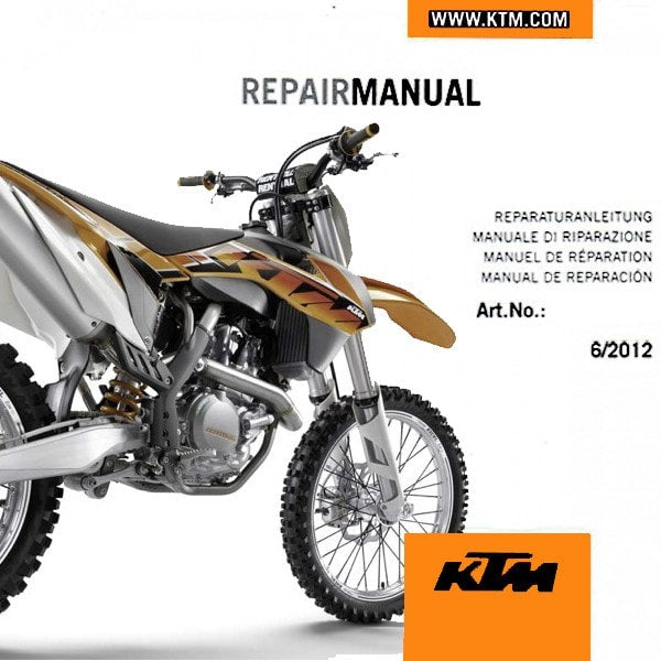 ktm 450 exc 2005 service manual