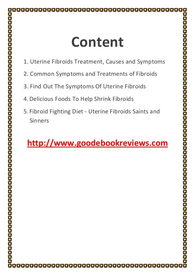 Pathophysiology of uterine fibroids pdf