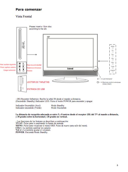 politica manual de instrucciones streaming