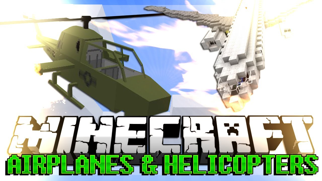 Mc helicopter mod how to fly