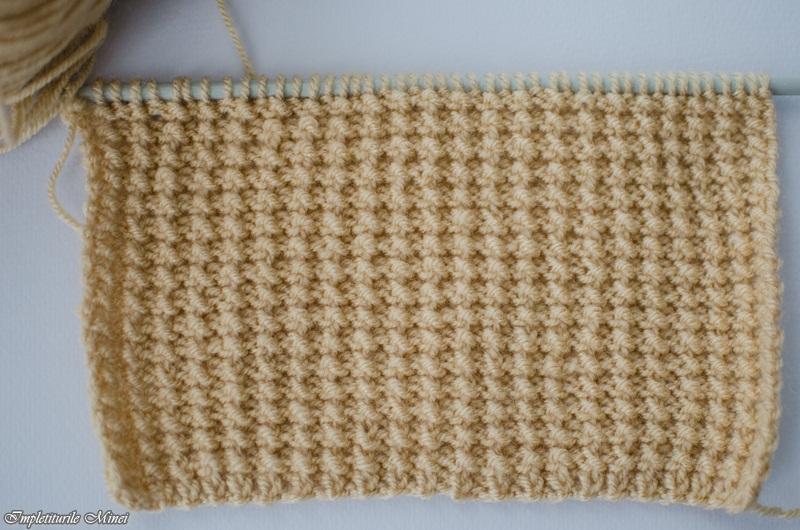 modele de tricotat manual cu andrele