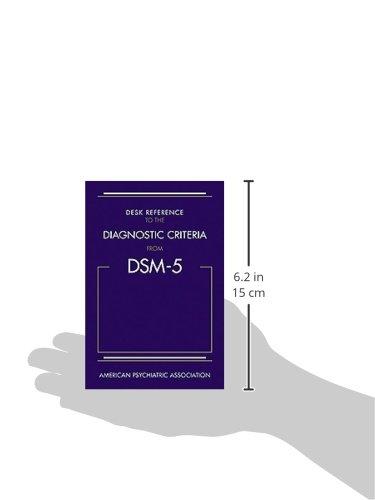 Dsm 5 desk reference pdf