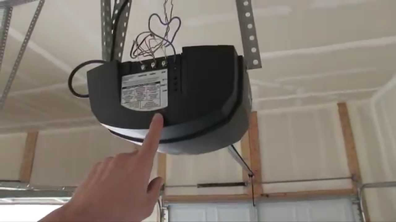 linear garage door opener manual