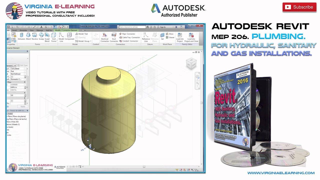 Revit mep plumbing tutorials pdf