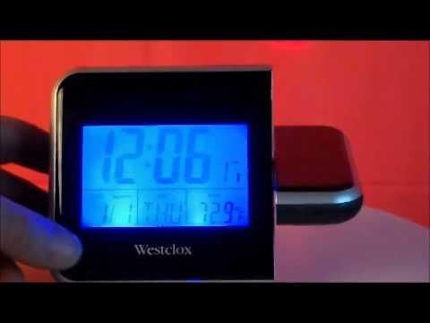 Westclox projection alarm clock manual