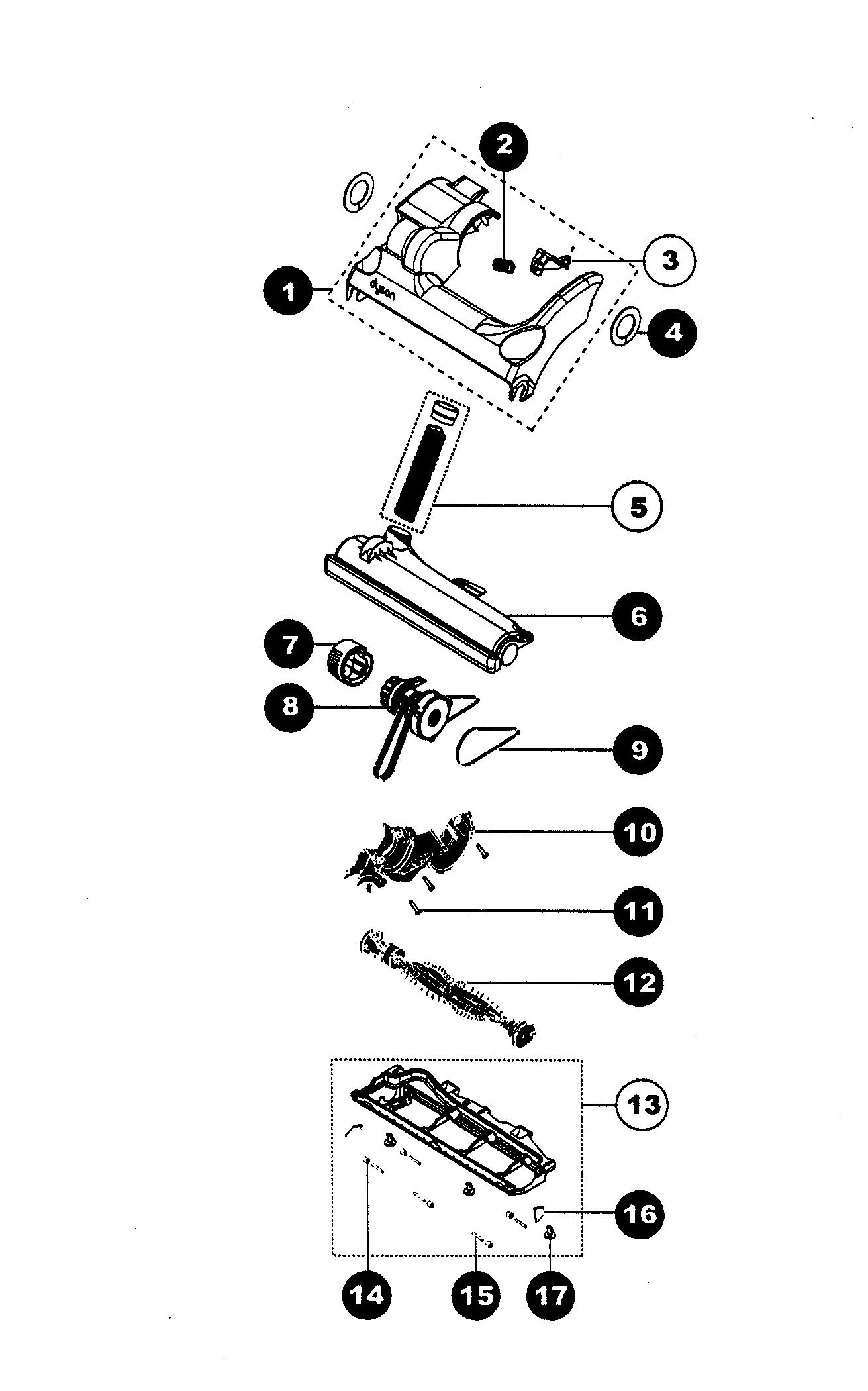 Dyson dc14 parts diagram pdf