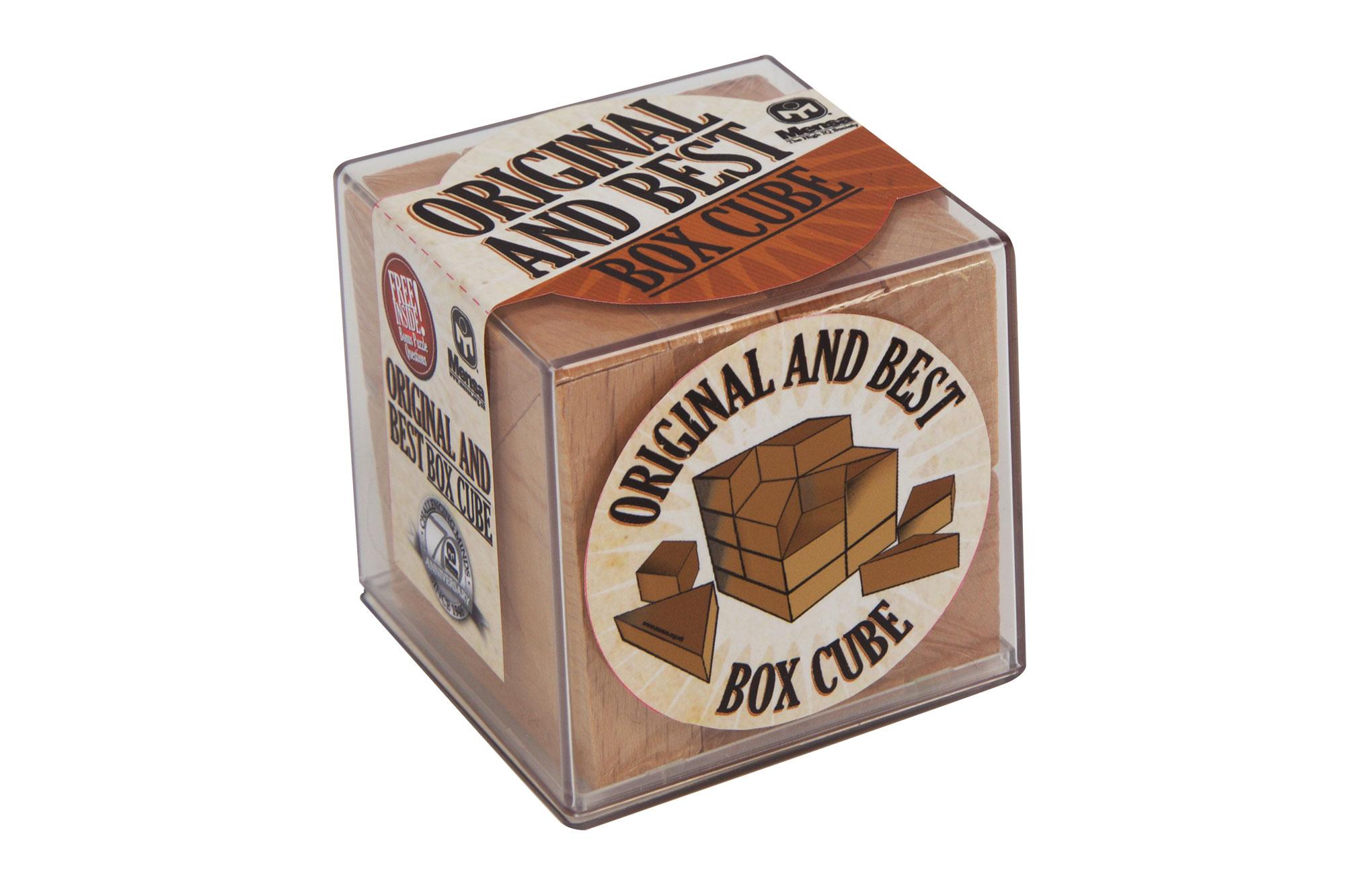 mensa box cube instructions