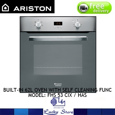 ariston self cleaning oven manual