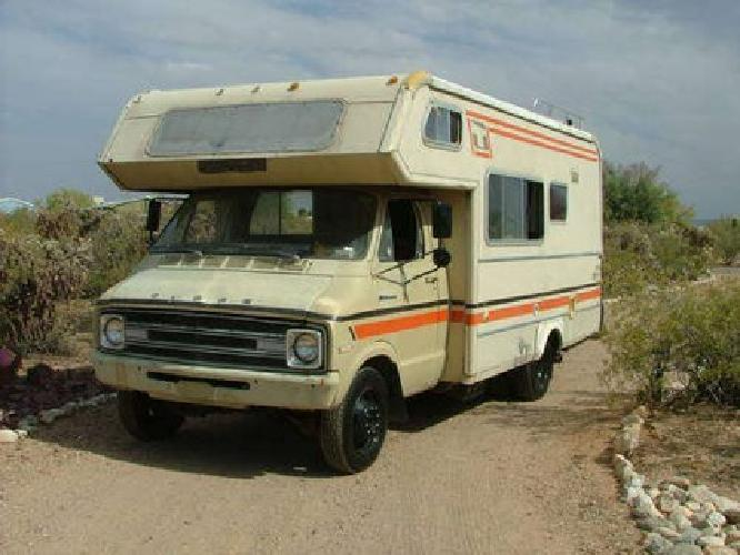 1974 dodge sportsman motorhome manual