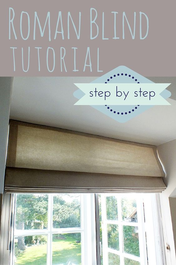 easy roman blind instructions