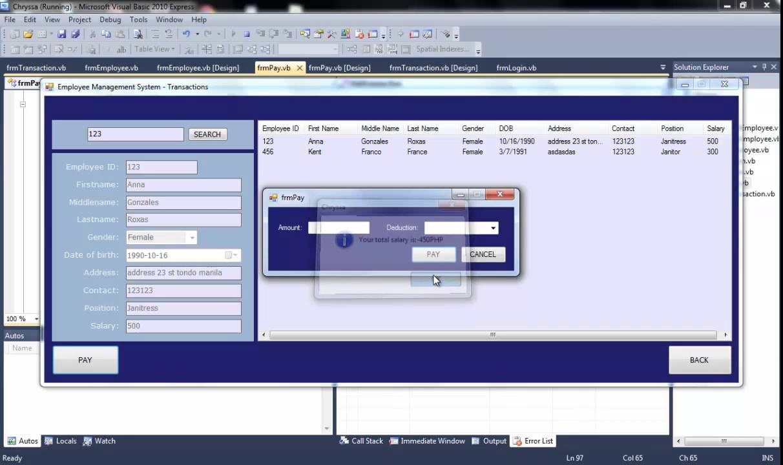 Simple web based document management system