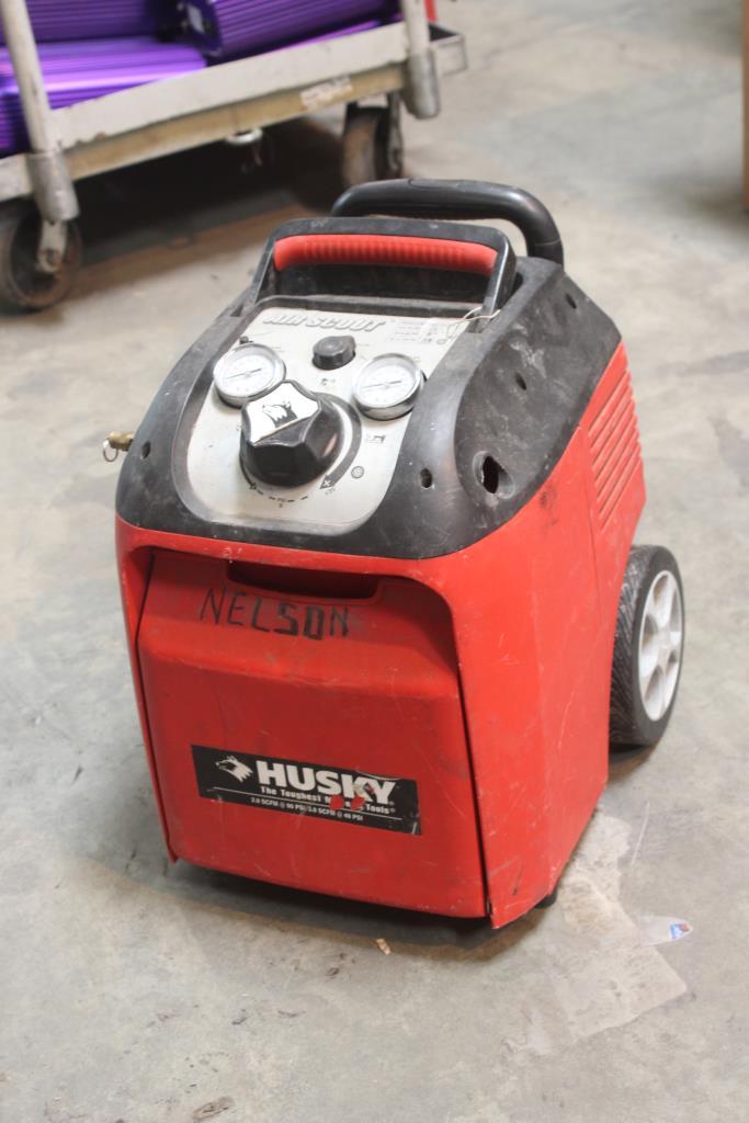 husky 1.5 gallon air compressor manual