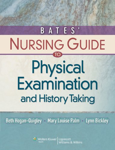 Bates guide to physical examination 11th edition test bank
