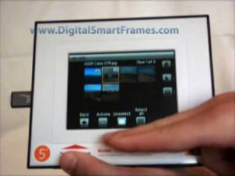 Ativa digital photo frame manual