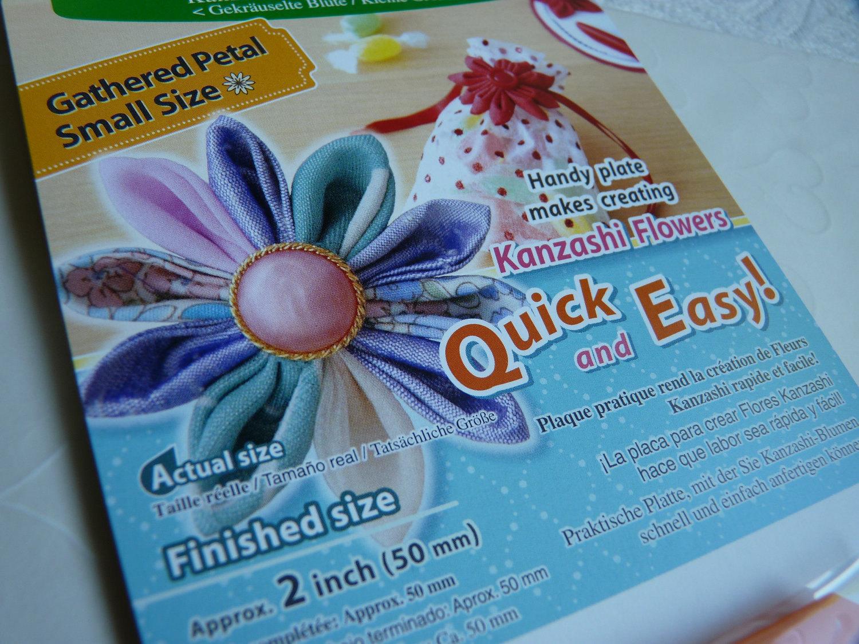 clover kanzashi flower maker instructions