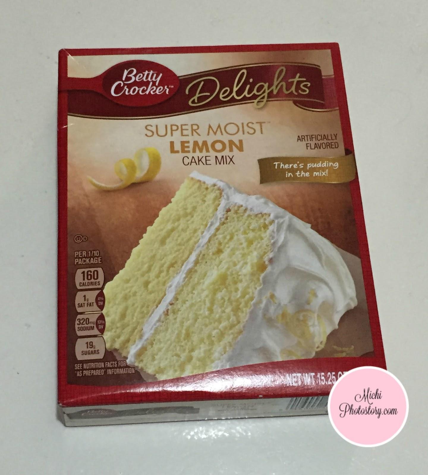 betty crocker lemon cake mix instructions
