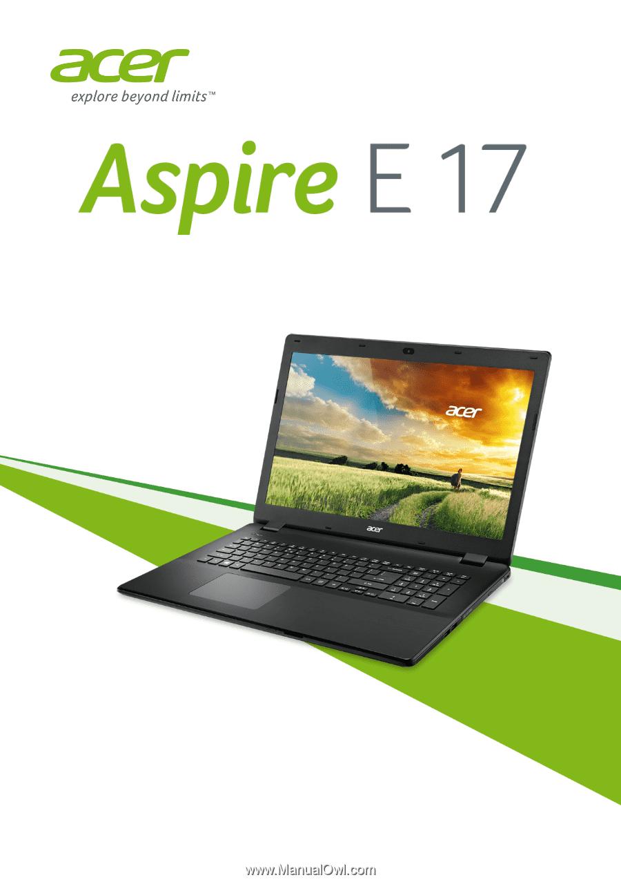 acer aspire es1-533 user manual