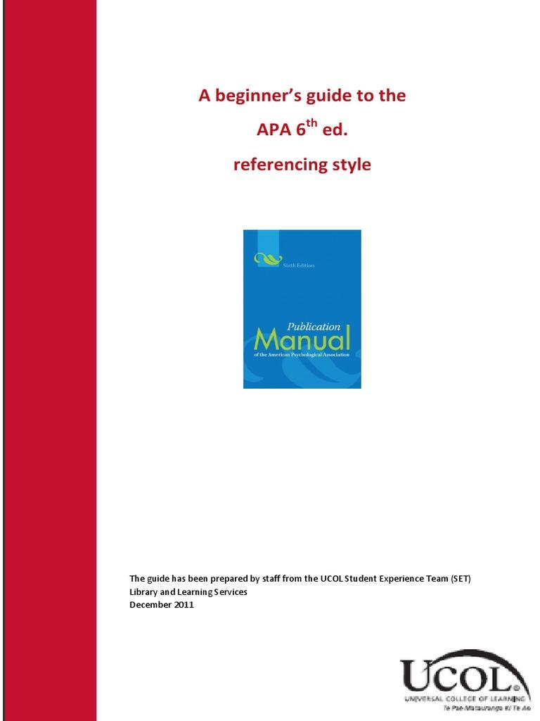 apa publication manual 7th edition pdf free download