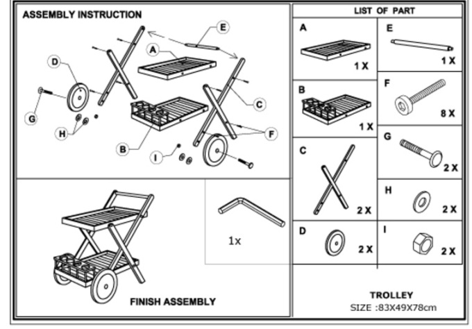 how to write technical assembly instructions