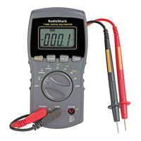 Radioshack 42 range digital multimeter manual