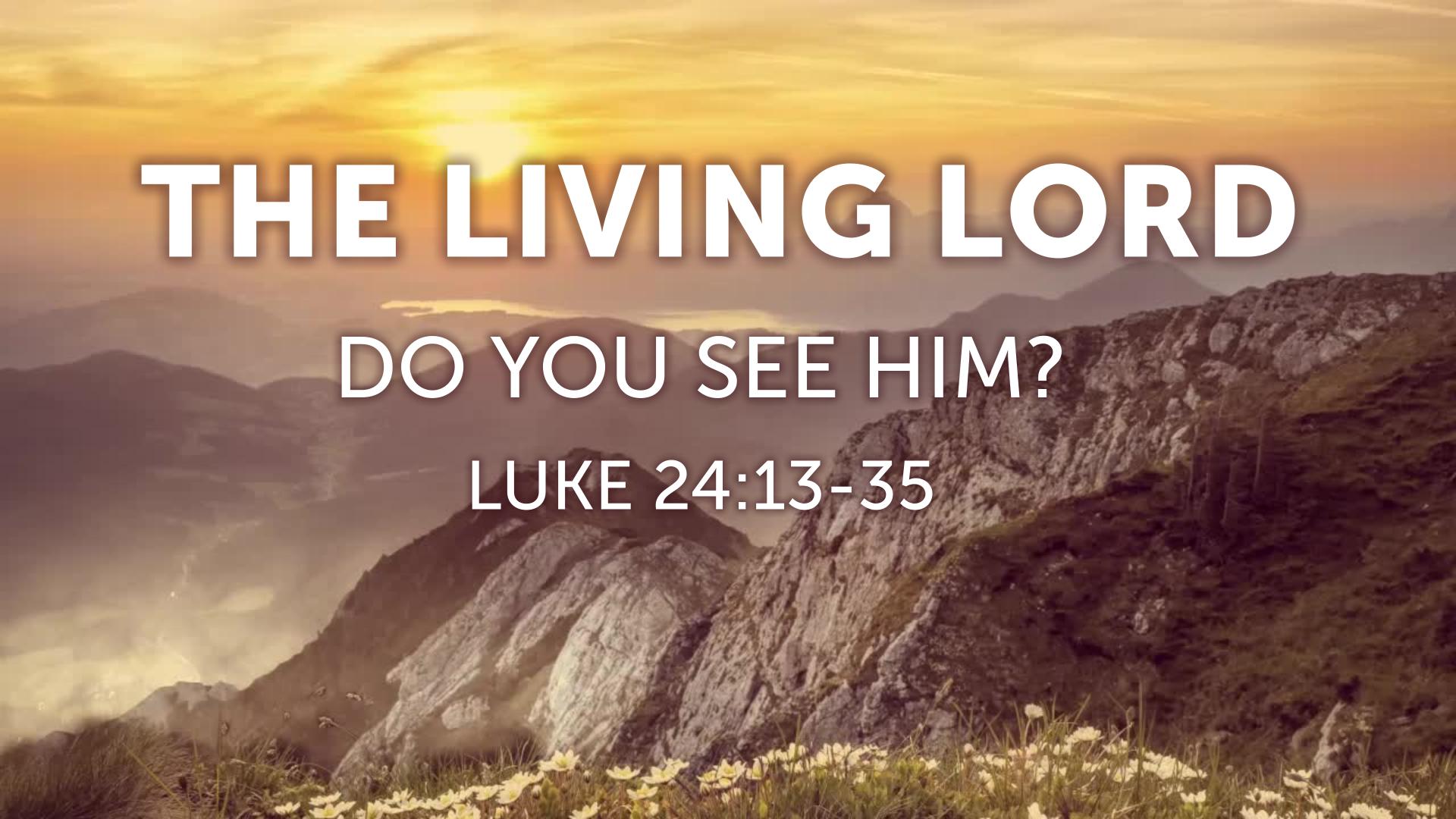 Luke 24 13-35 sermon pdf