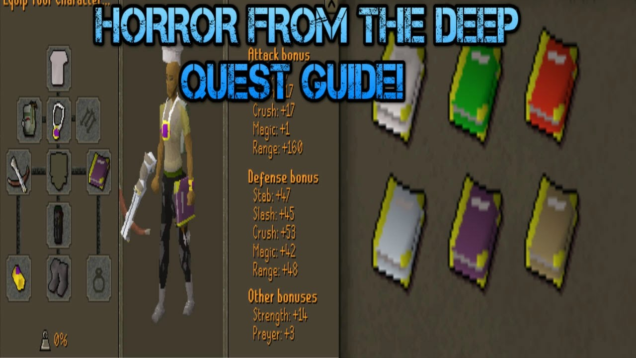 Horror from the deep guide