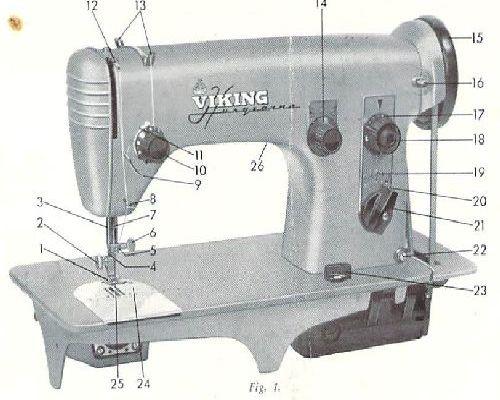 viking husqvarna 610 sewing machine manual