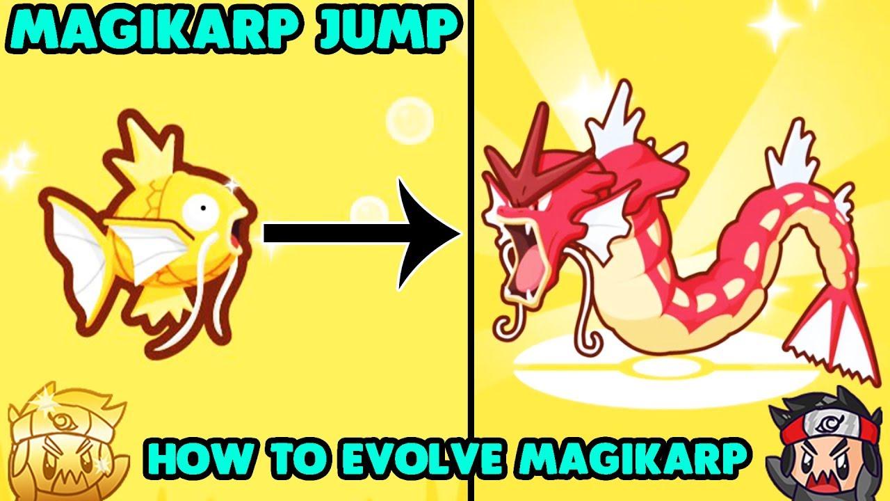 Magikarp jump how to evolve