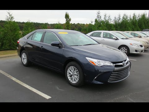 2016 toyota camry le manual