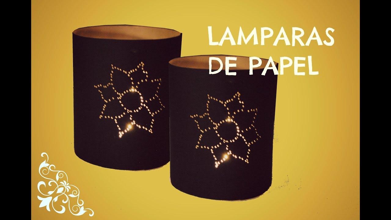Pantallas de lamparas manualidades para