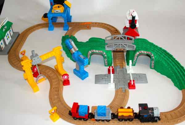 Fisher price geotrax train set instructions