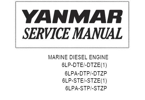 Yanmar 6lp ste service manual