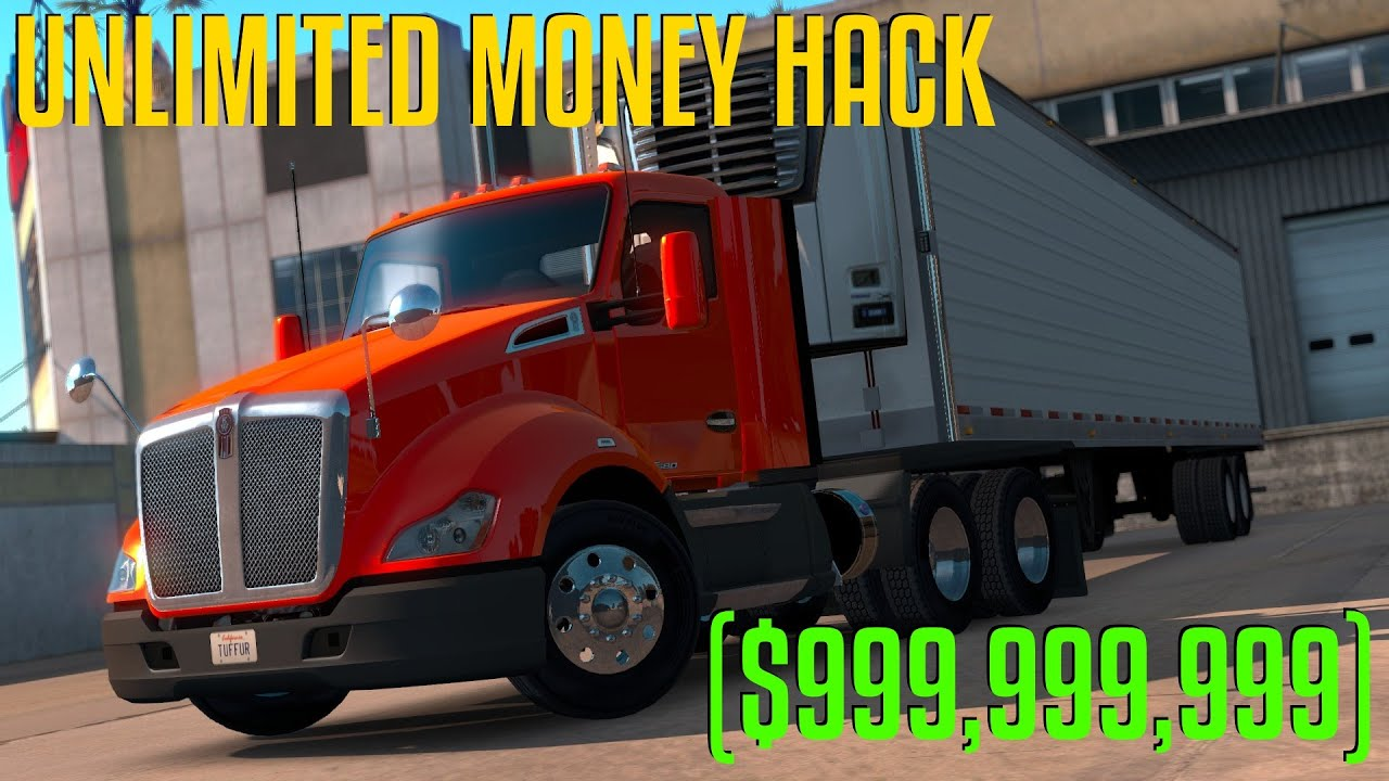 American truck simulator how to add money cheat engine