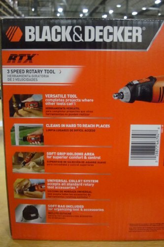 Black and decker rtx manual