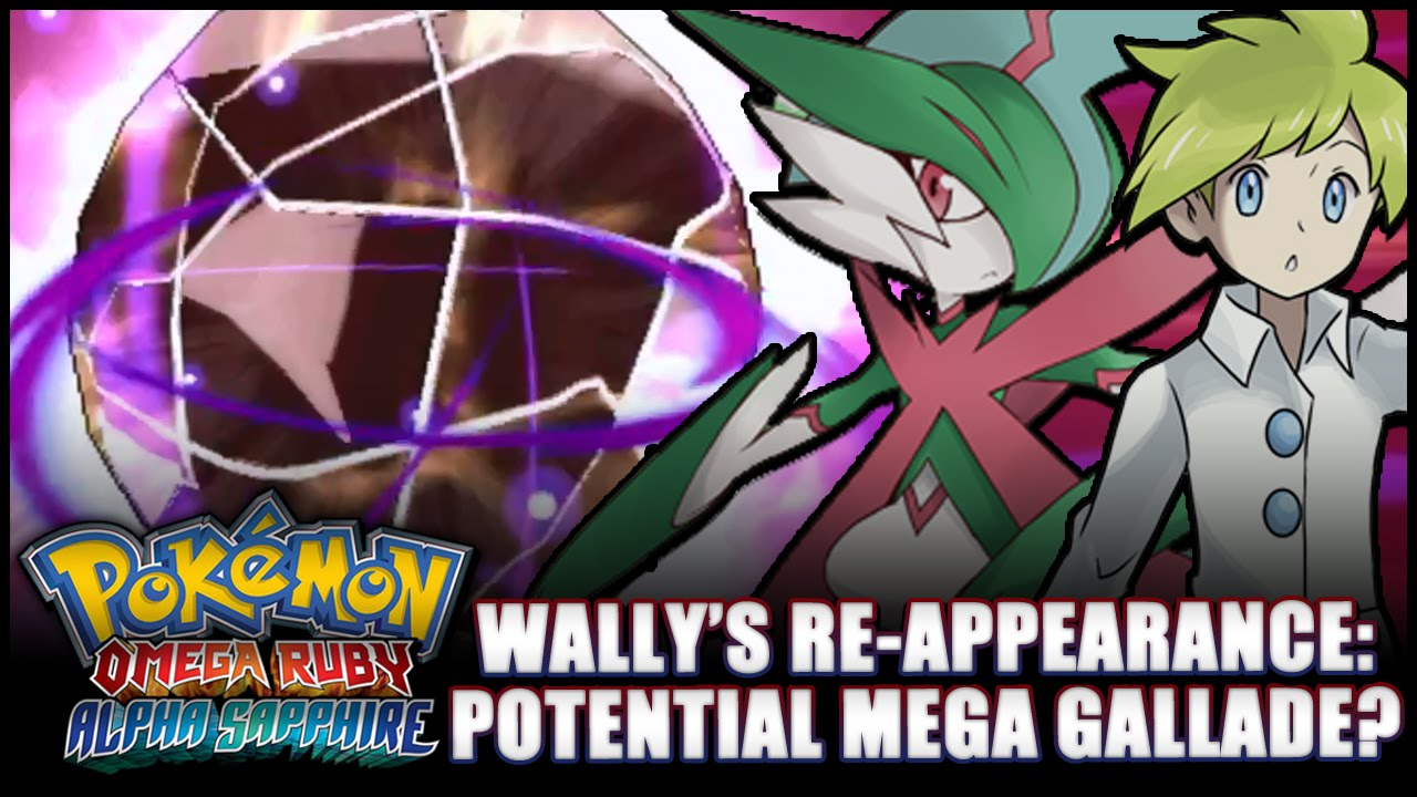 Pokemon omega how to get gallade