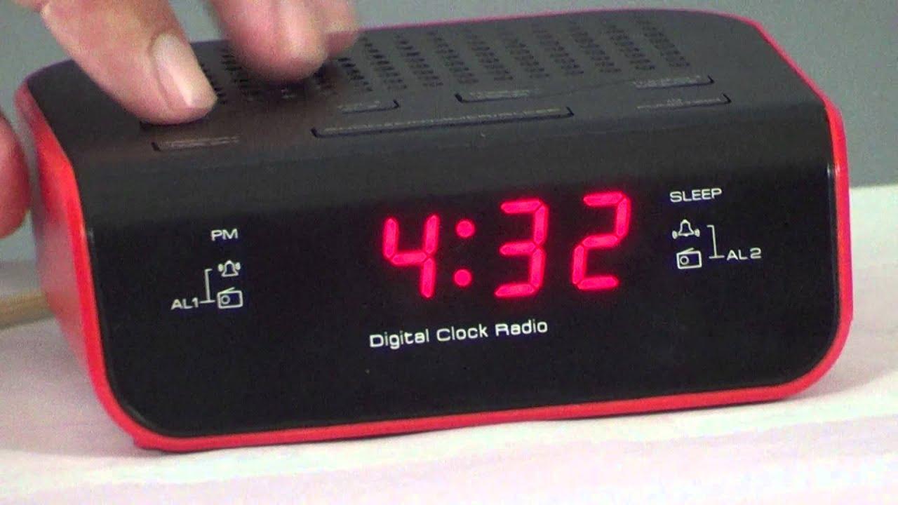 Onix alarm clock radio manual