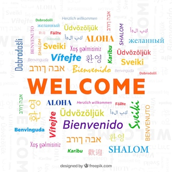 Welcome in different languages pdf