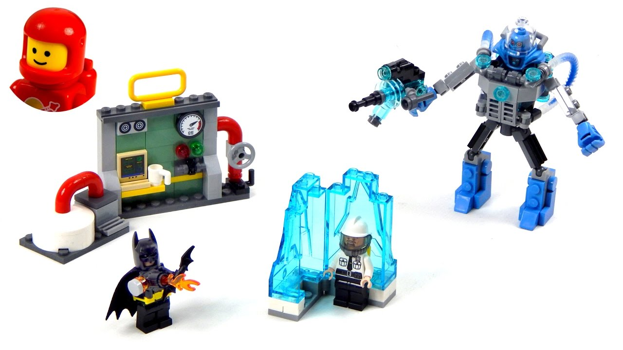 lego mr freeze instructions