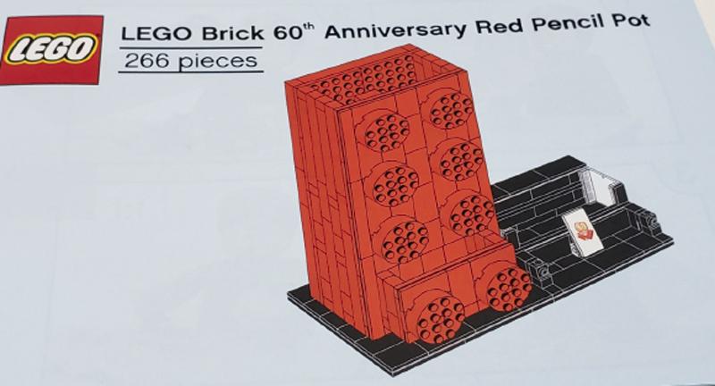 Lego pencil holder instructions