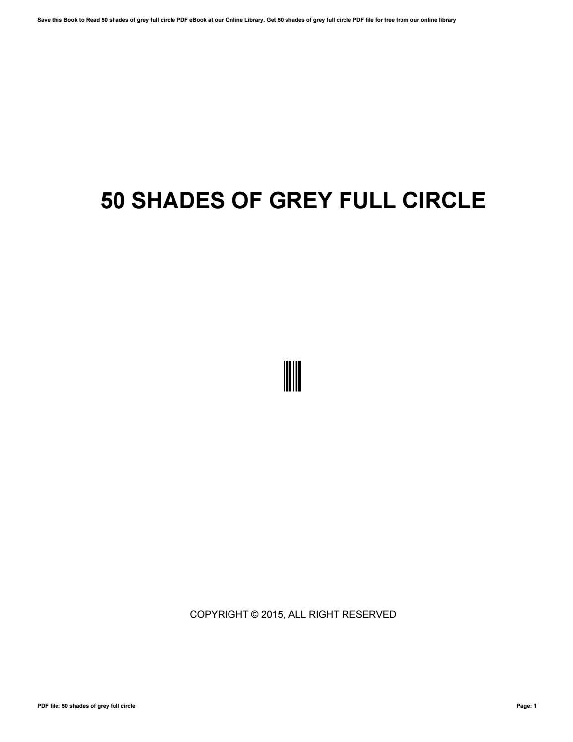 50 shades of gray pdf ebook free download