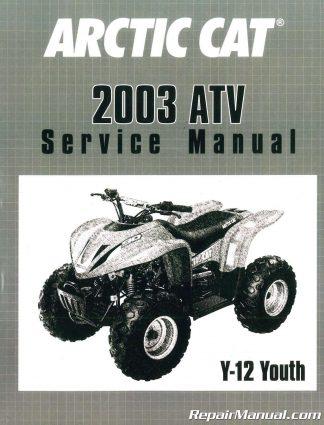 2003 arctic cat 500 atv service manual