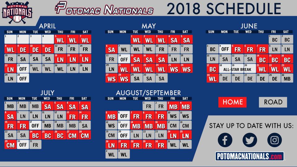 Washington nationals schedule 2017 pdf