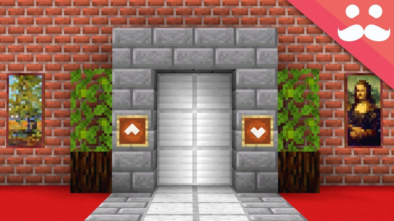 Minecraft how to make a realistic elevator