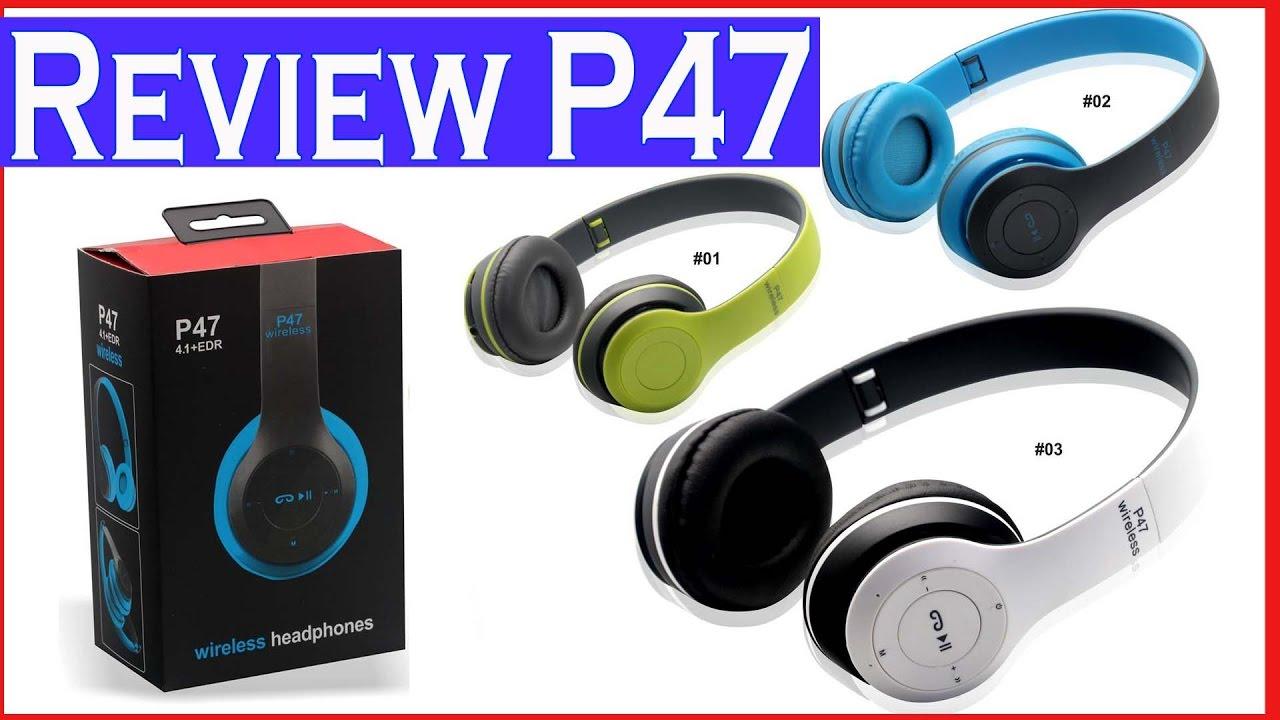 p47 wireless headphones user manual