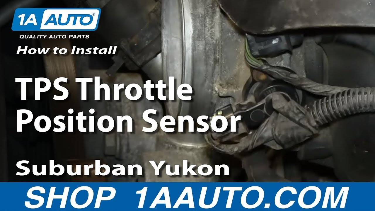 2004 pontiac montana tps sensor instructions