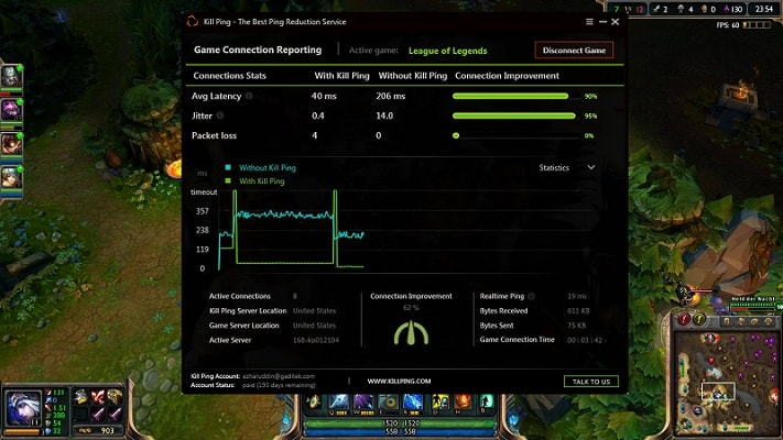 Lol how to show fps and ping