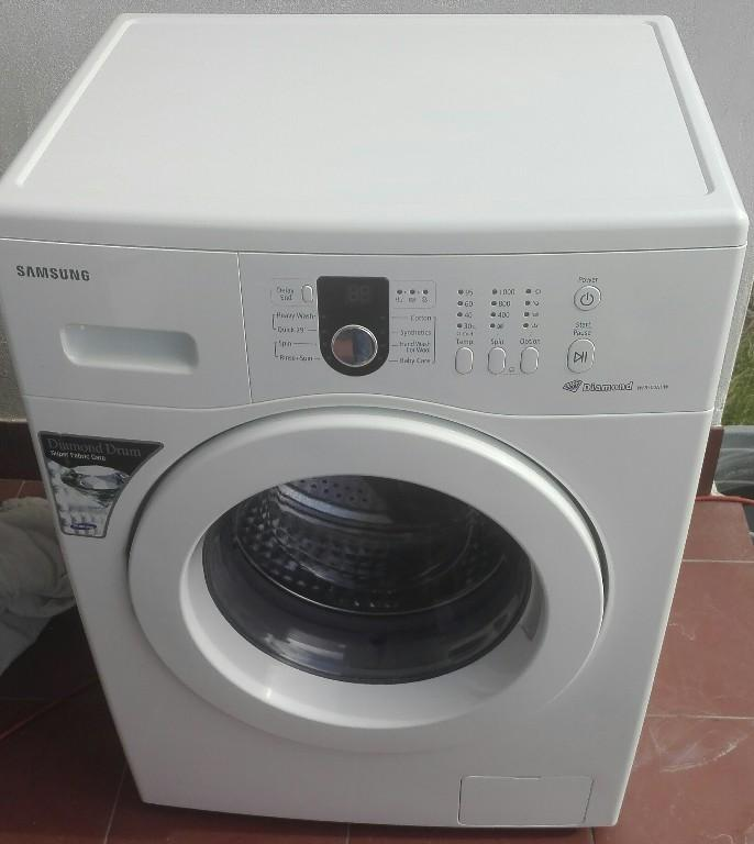 samsung diamond drum front loader washing machine manual