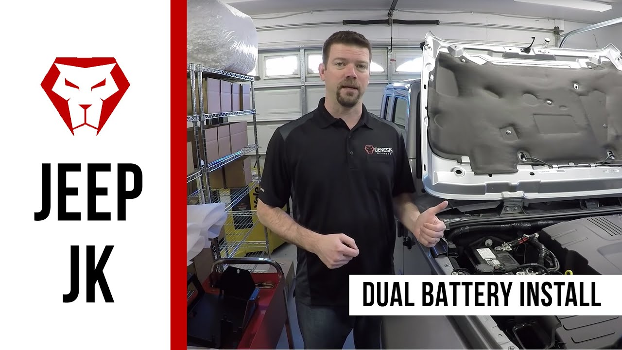 Dual battery installation instructions