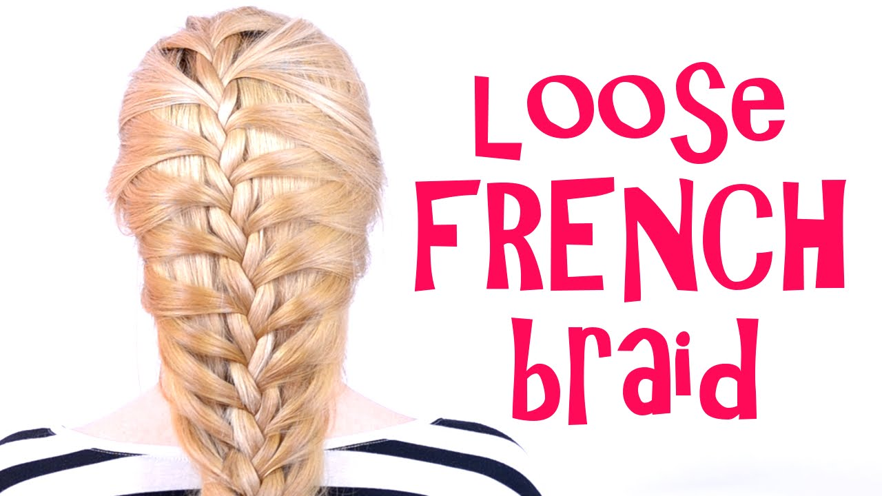 french braid instructions youtube