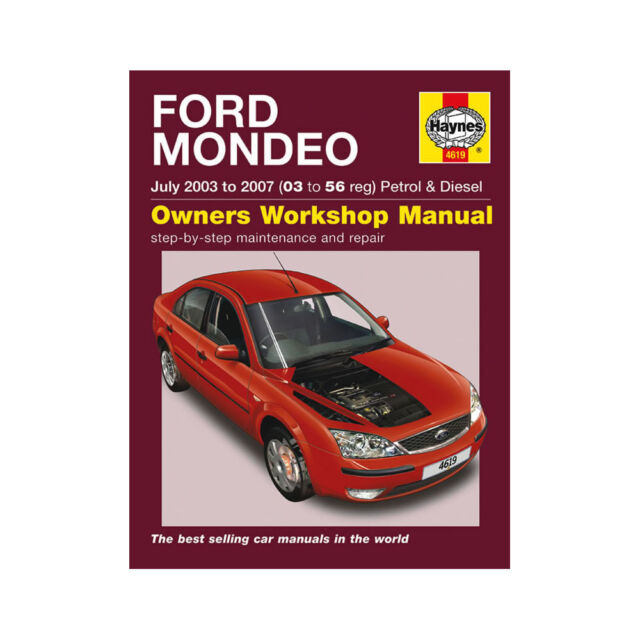Ford mondeo online service manual